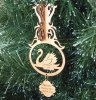 Swan Christmas Ornament 3D Wood Christmas Ornaments