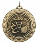 Spinner Medal - Science Academic Medals