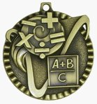 Value Medal - Math Academic Medals