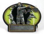Tennis Burst Thru Trophy (Male) All Trophy Awards