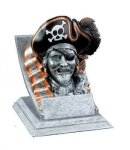 Pirate Mascot All Trophy Awards