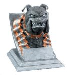 Bulldog Mascot All Trophy Awards