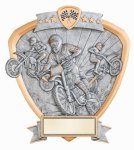 Signature Series Motocross Shield Award All Trophy Awards