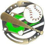 Color Star Medal - Baseball Baseball Medals