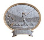 Legend Baseball Oval Award Baseball Trophies