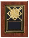 Baseball Softball Plaque 6x8 Baseball Trophy Awards