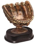 Antique Baseball Glove Baseball Trophy Awards