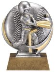 T-Ball 3D Motion Trophy (Male) Baseball