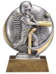 T-Ball 3D Motion Trophy (Female) Baseball
