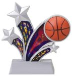 Basketball Holographic Rising Star Basketball Trophies