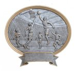 Legend Basketball Oval Award Basketball Trophies