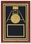Plaques - Corporate Plaque Basketball Trophy Awards