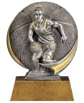 Basketball 3D Motion Trophy (Male) Basketball