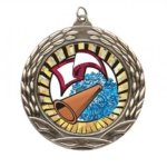 Wreath Insert Medal - Cheerleader Cheerleader Medals