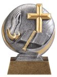 Christian 3D Motion Trophy Christian Trophies | Christian Awards | Name Badges