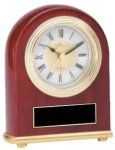 Classic Rosewood Clock Clocks - Desk