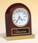 Rosewood Piano Finish Clock Clocks - Desk