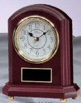 Rosewood Mantle Clock Clocks - Mantle