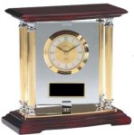 Rosewood Clock Clocks - Mantle