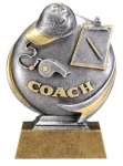 Coach 3D Motion Trophy Coach Trophy Awards