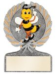 Spelling Bee Multi Color Sport Resin Figure Education Trophy Awards