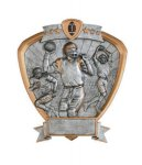 Signature Series Football Shield Award Football Trophies