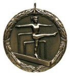 Wreath Medal - Female Gymnist Gymnastics Medals