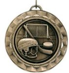 Spinner Medal - Hockey Hockey Trophies