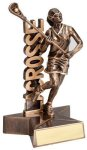 Lacrosse Super Star Trophy (Female) Lacrosse Trophies