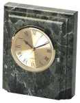 Jade Marble Desk Clock Marble Awards