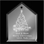 Christmas Tree Ornament Mirror Christmas Ornaments | House