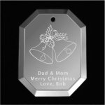 Bells Christmas Ornament Mirror Christmas Ornaments | Octogon