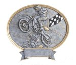 Legend Motocross Oval Award Moto-Cross Trophies
