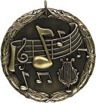 Wreath Medal - Music Music Medals