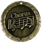 Wreath Medal - Chorus Music Medals