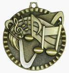 Value Medal - Music Music Medals