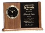 Walnut Clock Picture Frame Photo Gifts & Frames