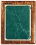 Walnut Gloss Plaque - Green Heritage Piano Finish Walnut Plaques
