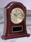 Rosewood Mantle Clock Rosewood Awards