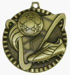 Value Medal - Soccer Soccer Medals