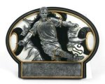 Soccer Burst Thru Trophy (Male) Soccer Trophies