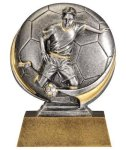 Soccer 3D Motion Trophy (Male) Soccer Trophy Awards