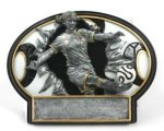 Soccer Burst Thru Trophy (Female) Soccer Trophy Awards