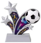 Soccer Holographic Rising Star Soccer Trophy Awards