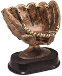 Antique Softball Glove Softball
