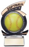 Gold Star Softball Award Softball