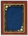 Economy Plaque - Blue Star Achievement Star Plaques