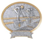 Legend Swimming Oval Award Swimming Trophies
