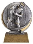 Tennis 3D Motion Trophy (Male) Tennis Trophy Awards