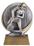 Tennis 3D Motion Trophy (Female) Tennis Trophy Awards